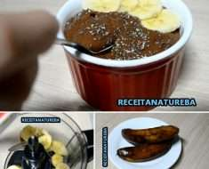 Sorvete Fit de 3 Ingredientes