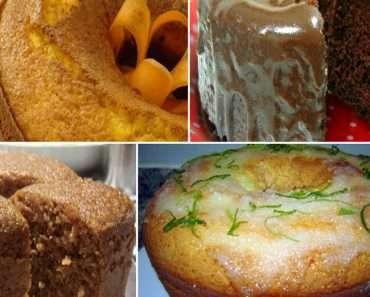 5 Receitas de Bolos Para Diabéticos