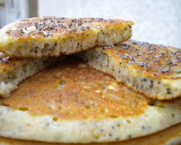 Panqueca Vegana Sem Ovos, Sem Leite e Sem Glúten
