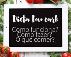 Low Carb: O Guia Completo, Receitas e Benefícios
