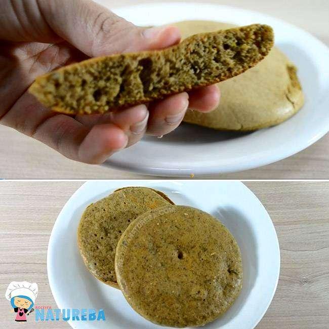 Pão-de-Frigideira-Fit 15 Maneiras de Como Substituir o Pão no Café da Manhã