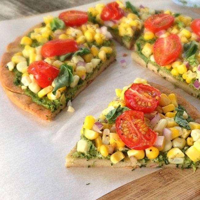 Pizza-Vegana-Receita-Fácil Pizza Vegana Receita Fácil