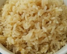 Receita de Arroz Integral