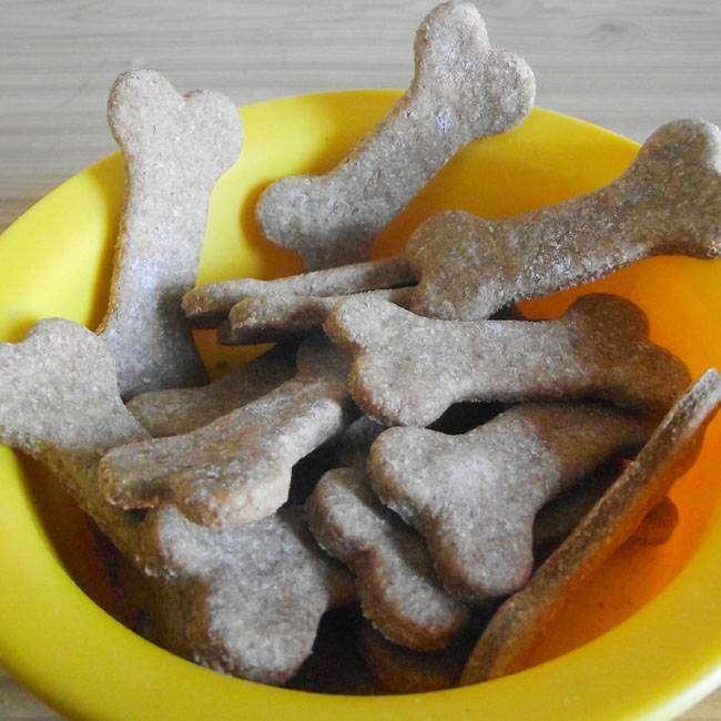 Receita de Como Fazer Biscoito Canino Saudável