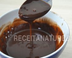 Como Fazer Calda de Chocolate Fit / LOW CARB