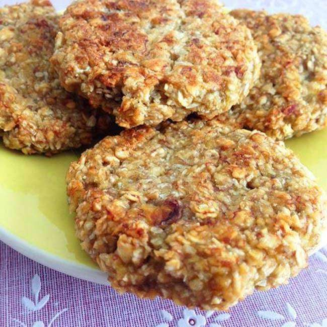 Cookies-de-Aveia-Caseiro-com-Banana Cookies de Aveia Caseiro com Banana