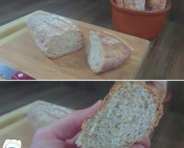 Pão 100% Integral Fofinho Muito Fácil