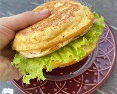 Pão Sem Farinha - Sem Glúten e Sem Carboidrato