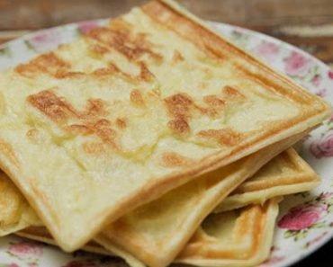 Pão de Queijo de Batata Doce na Sanduicheira