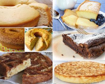 7 Receitas de Bolos Simples Saudáveis / MASSA CORINGA