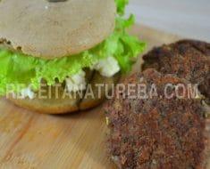 Hambúrguer Caseiro com Aveia Que Não Engorda