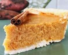 TORTA DE BATATA DOCE FIT (Sweet Potato Pie)