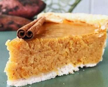 TORTA DE BATATA DOCE FIT (Sweet Potato Pie)