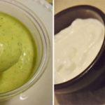 Molho de Kefir para Saladas
