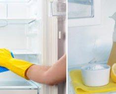 Como Limpar Geladeira e Tirar o Mau Cheiro Fácil
