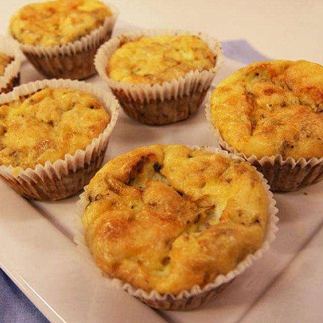 Muffin-de-Frango-Fit-Facil-e-Gostoso Muffin de Frango Fit Fácil e Gostoso