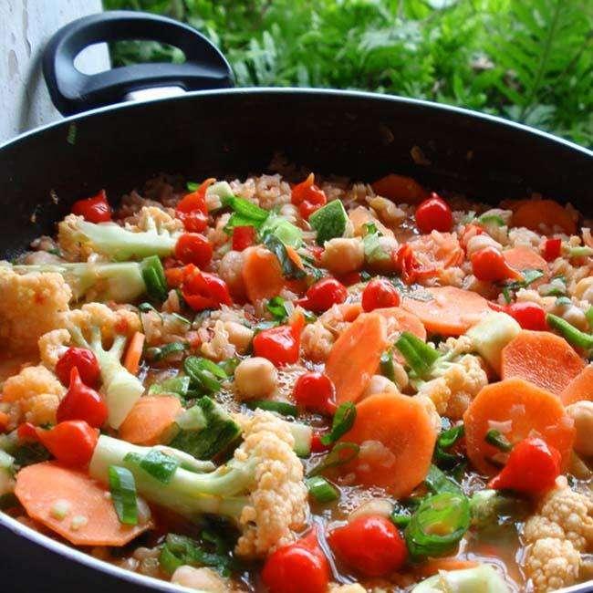 Receita-de-Paella-Vegetariana Receita de Paella Vegetariana