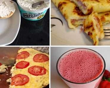 5 Opções de Café da Manhã Fit