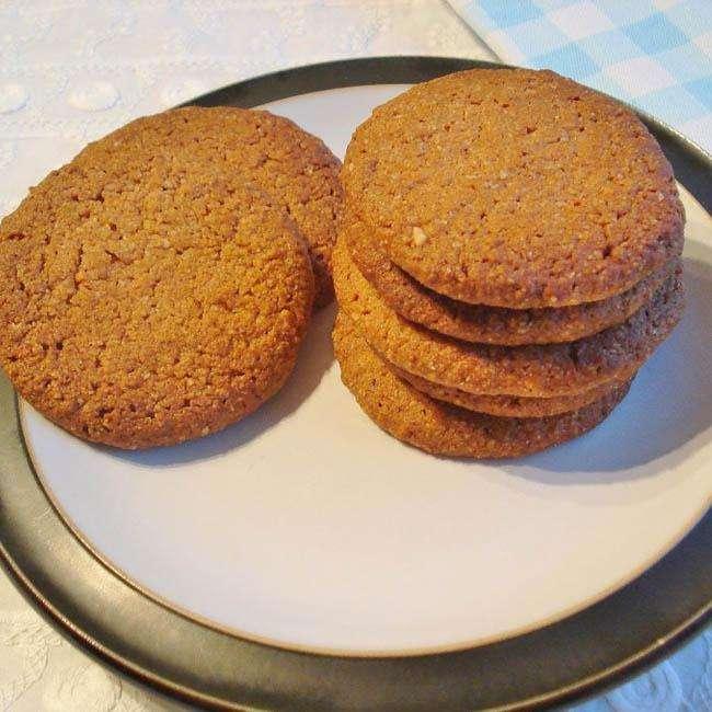 Biscoito-Fit-de-Gengibre-com-Canela Biscoito Fit de Gengibre com Canela