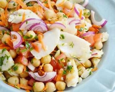 Como Fazer Salada de Grão de Bico