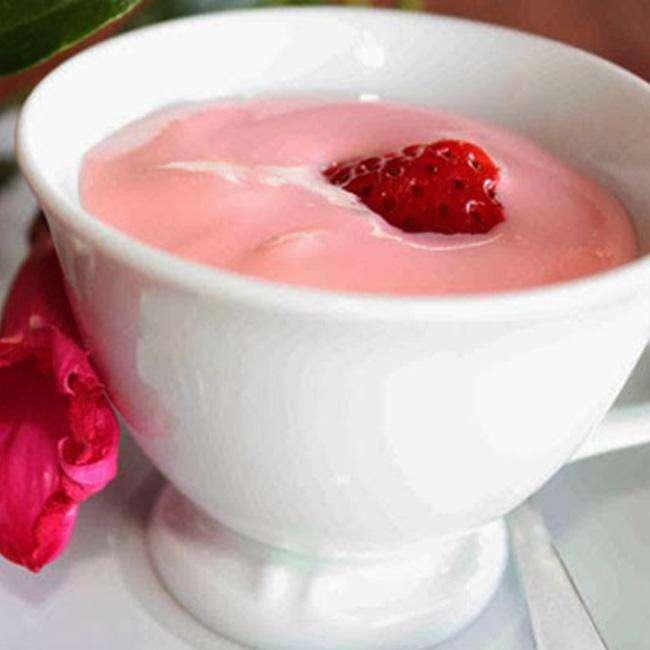 Iogurte-de-Kefir-com-Suco-em-Po Como Fazer Kefir em Casa