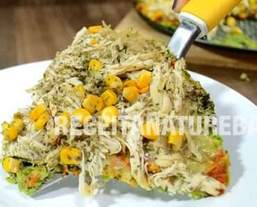 Pizza de Brócolis Low Carb