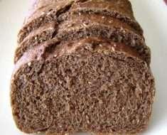 Receita de Pão de Centeio com Aveia