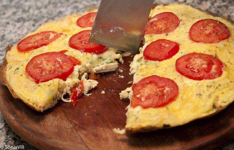 omelete 5 Opções de Café da Manhã Fit