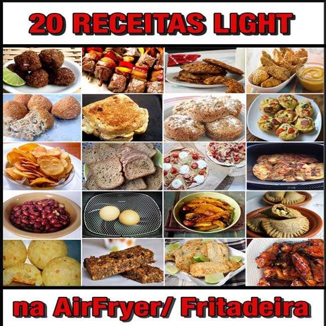 20-Receitas-na-AirFryer 20 Receitas na AirFryer Light / Fritadeira Elétrica