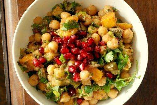 Saladas de Natal e Ano Novo Saudáveis