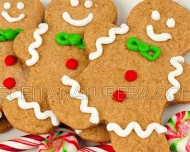 Biscoito Fit de Natal
