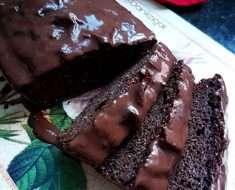 Bolo de Chocolate Low Carb Molhadinho