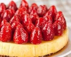 Cheesecake de Kefir Sem Ovos