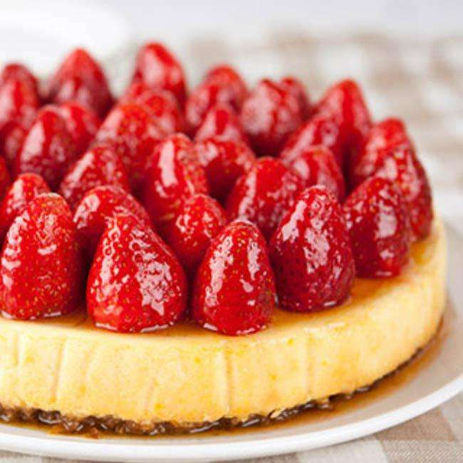 Cheesecake-de-Kefir-Sem-Ovos Cheesecake de Kefir Sem Ovos