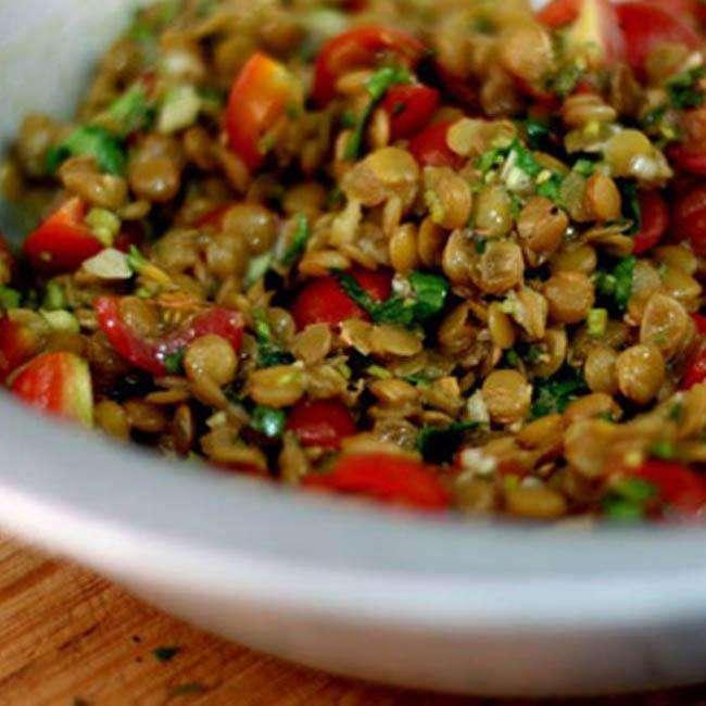 Como-Fazer-Salada-de-Lentilha-com-Atum Como Fazer Salada de Lentilha com Atum