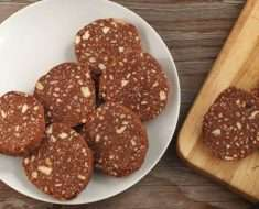 Salame de Chocolate Fit
