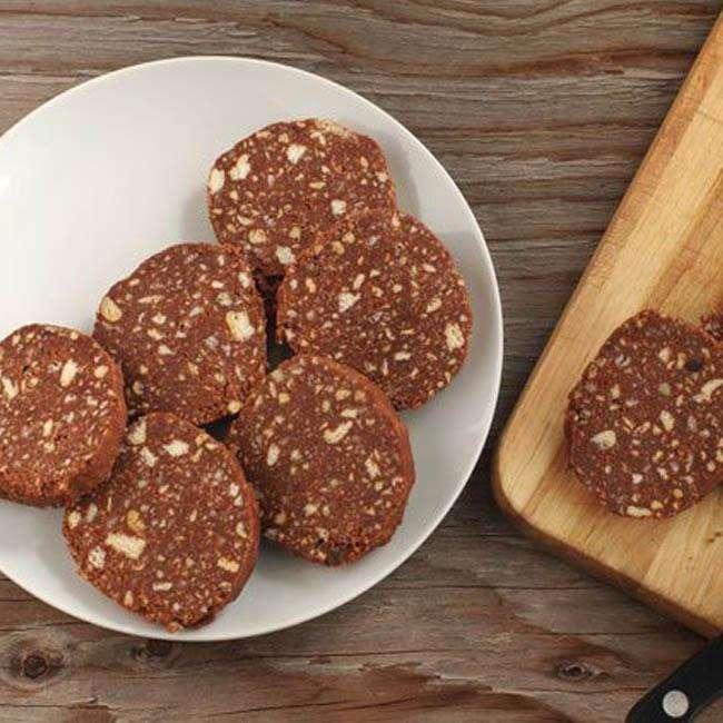 Salame-de-Chocolate-Fit Salame de Chocolate Fit