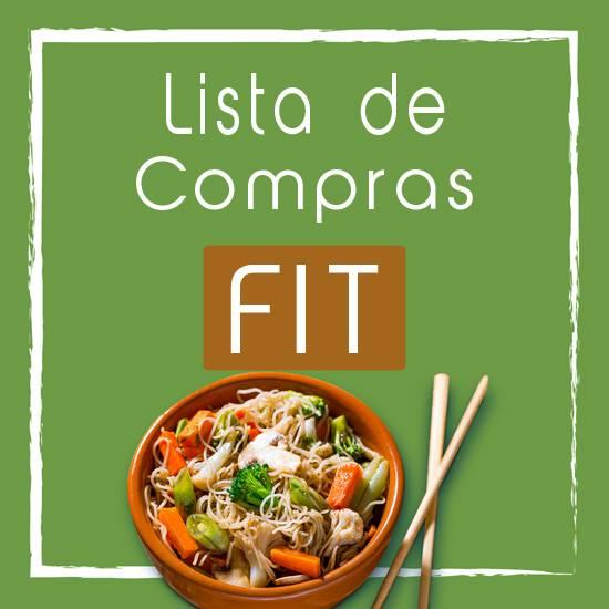 01 Lista de Compras Fit Para Dieta