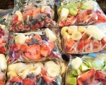 Como Congelar Frutas , Verduras e Legumes