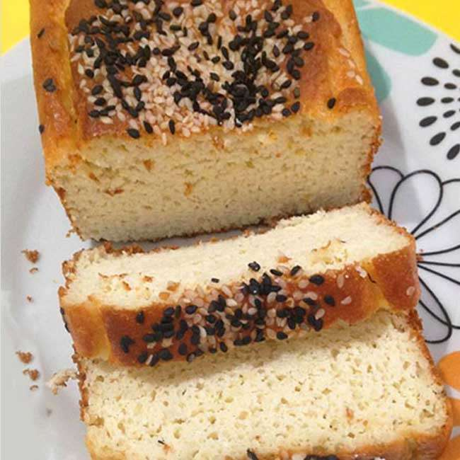 Pao-de-Kefir-Low-Carb Pão de Kefir Low Carb