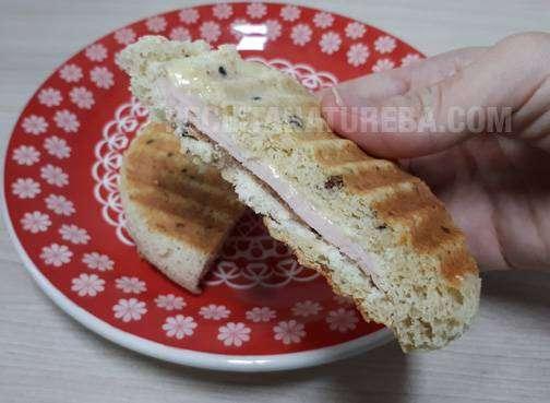 Pão de Microondas Low Carb
