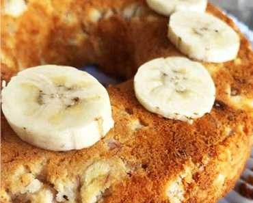 Bolo de Banana Low Carb