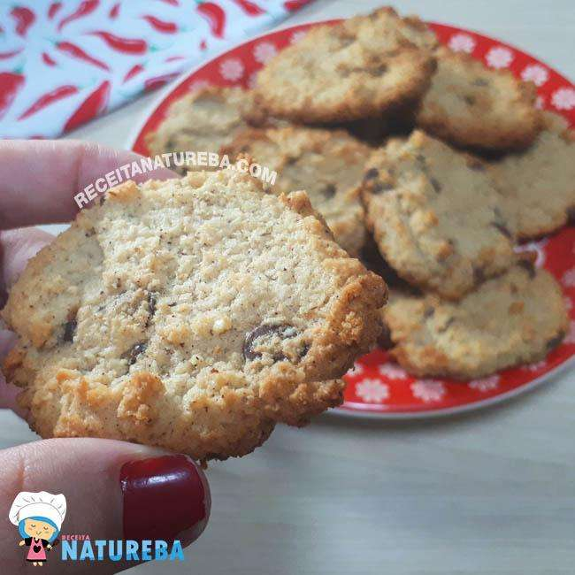 Cookies-Sem-Farinha-Low-Carb Cookies Sem Farinha Low Carb