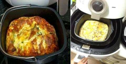 Omelete na Aifryer