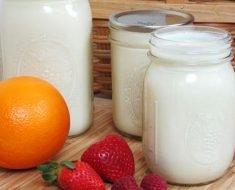 Iogurte Caseiro com Kefir