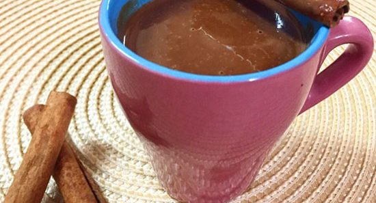Chocolate Quente Low Carb