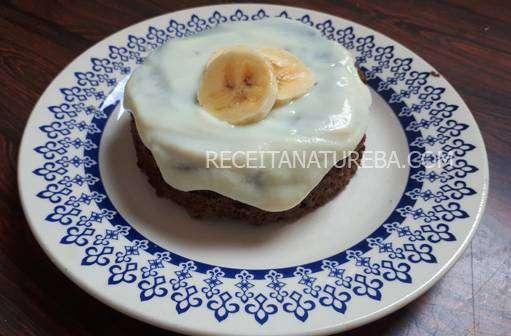 capa2 Bolo de Banana Fit de Microondas