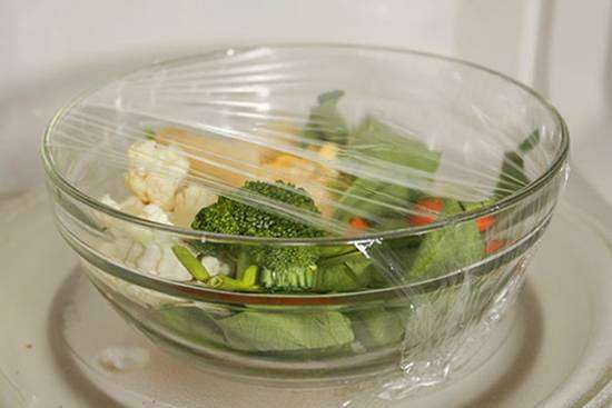 77-2 Legumes no Microondas