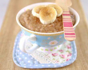 Torta de Banana Low Carb