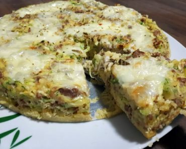 Torta de Abobrinha Low Carb